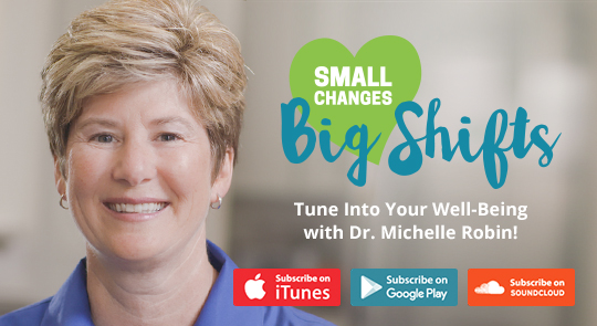 Small Changes Big Shifts Podcast Banner