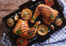 Marinated Chicken Thighs with Fennel Seeds
